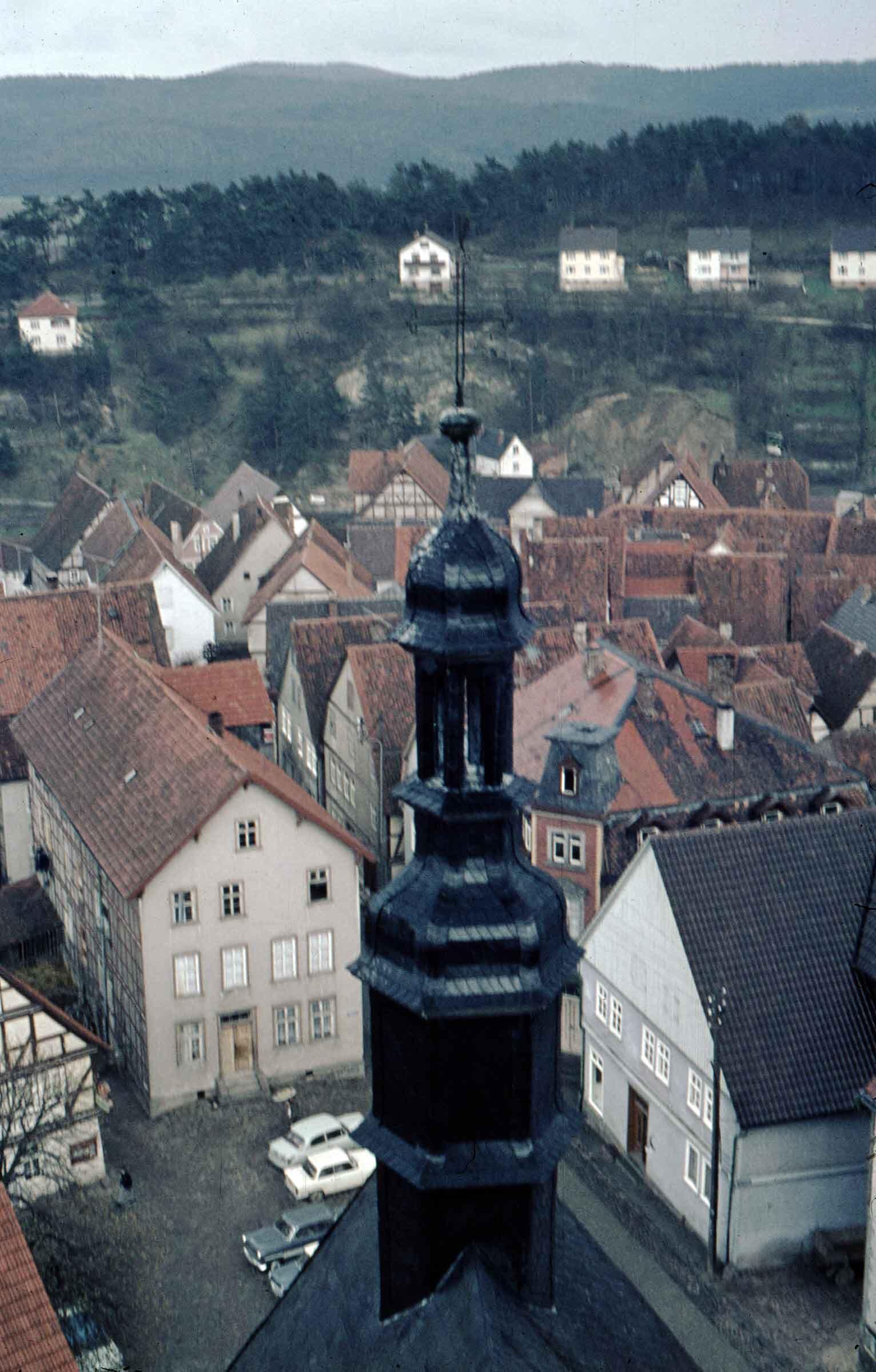 Kirchturm Altstadt Naumburg