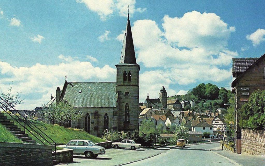 Stadt Naumburg alte Ansicht