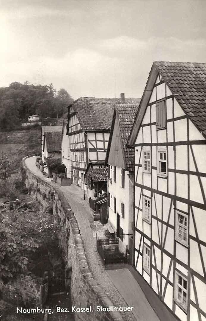 Stadtmauer Altstadt Naumburg
