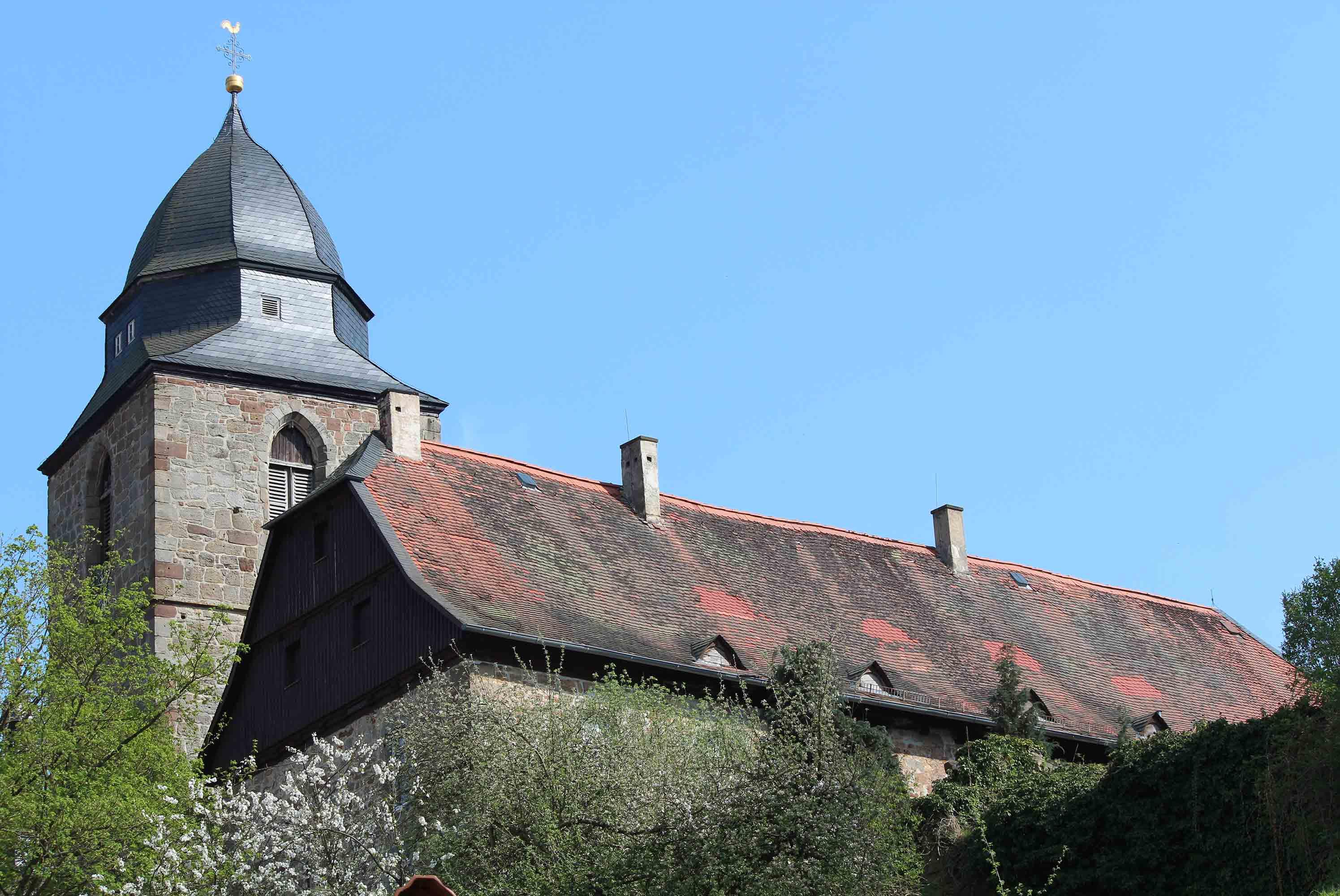 Kirche in der Altstadt Naumburg