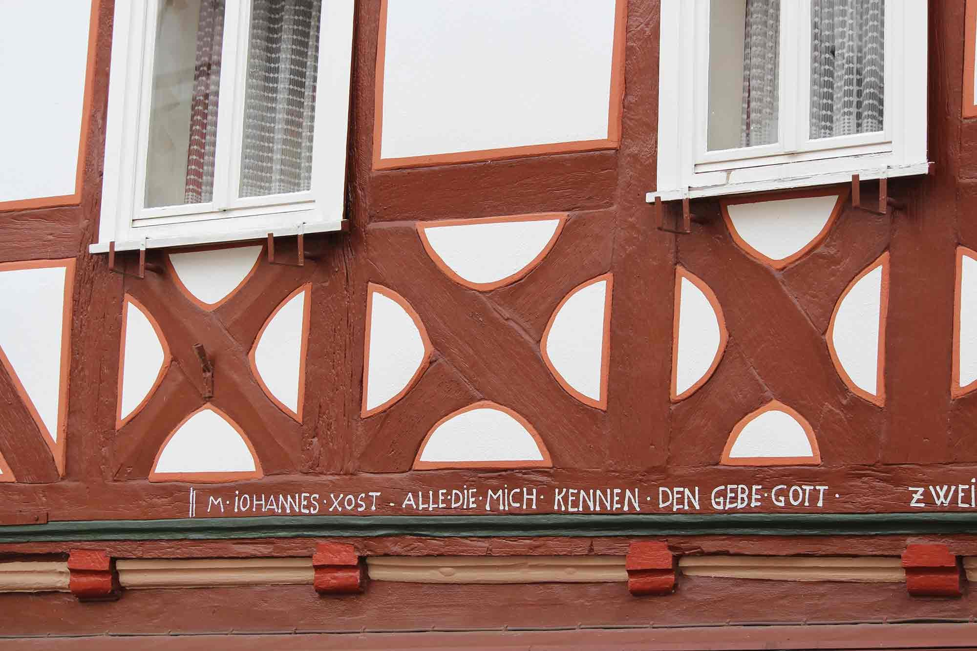 Fachwerkelement Altstadt Naumburg
