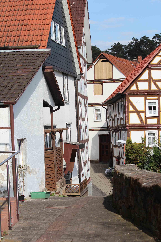 Ansicht Altstadt Naumburg