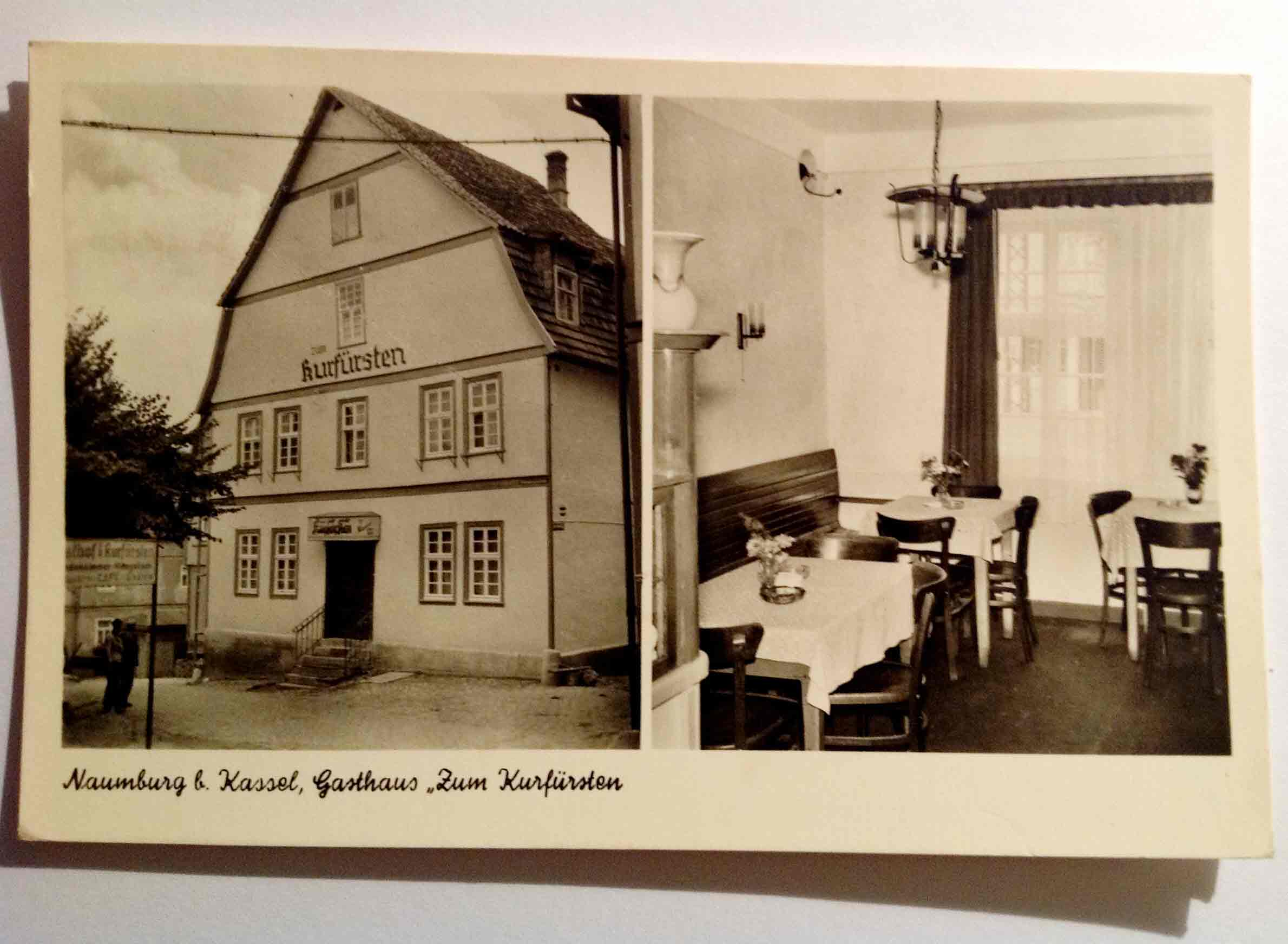 alte Ansichtskarte Naumburg