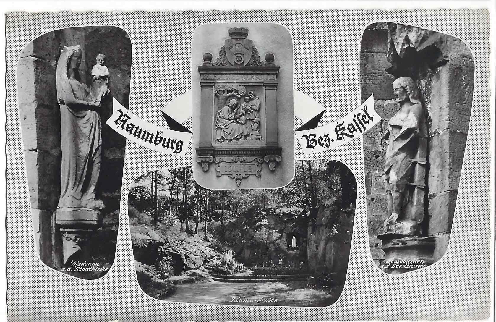 Naumburg alte Ansichtskarte