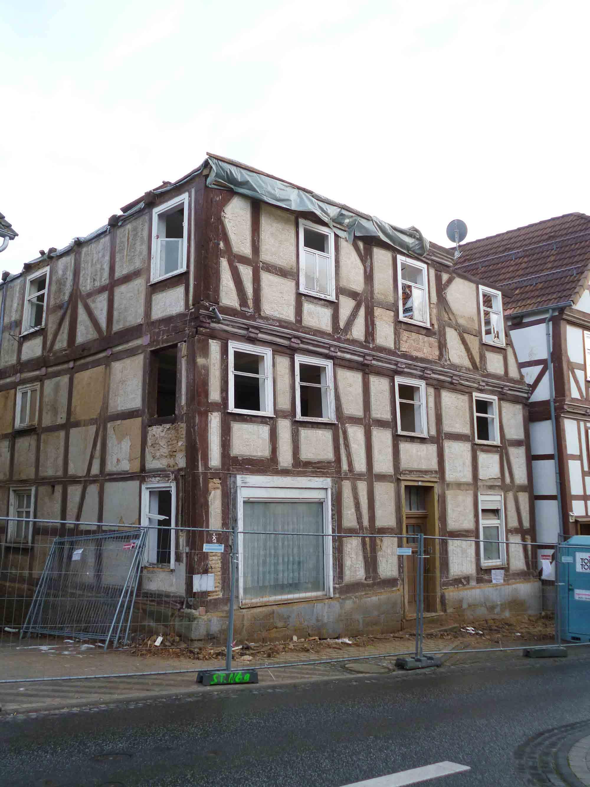 Abriss Altstadt Naumburg